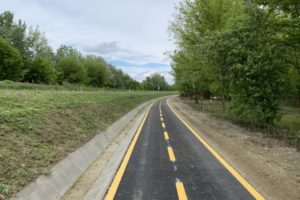Poroszló-Tiszafüred közötti kerékpárút, 2020